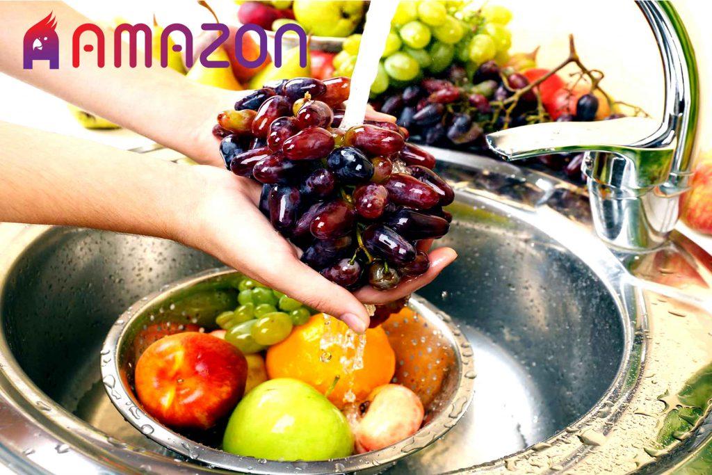 روش صحیح شستن سبزیجات و میوه
